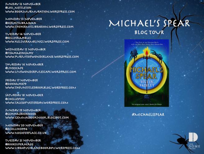 Michaels Spear Blog Tour Poster